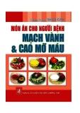 món ăn cho người bệnh mạch vành và cao mỡ máu
