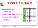 Bài giảng Hóa học vô cơ: Chương 5 - GV. Nguyễn Văn Hòa