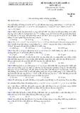 Đề thi khảo sát môn Vật lí lớp 12 năm 2017-2018 lần 4 - THPT Nguyễn Viết Xuân - Mã đề 301