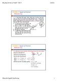 Bài giảng Cơ học lý thuyết: Tuần 9 - Nguyễn Duy Khương