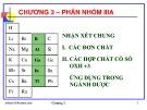 Bài giảng Hóa học vô cơ: Chương 3 - GV. Nguyễn Văn Hòa