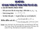 Bài giảng Hóa phân tích: Chương 1 - ThS. Nguyễn Văn Hòa