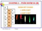 Bài giảng Hóa học vô cơ: Chương 2 - GV. Nguyễn Văn Hòa
