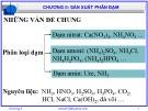 Bài giảng Công nghệ sản xuất phân bón vô cơ: Chương 2 - GV. Nguyễn Văn Hòa