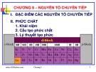 Bài giảng Hóa học vô cơ: Chương 8 - GV. Nguyễn Văn Hòa
