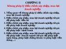 Bài giảng Pháp luật về sáp nhập, mua lại doanh nghiệp: Chương 2 - TS. Phạm Trí Hùng