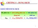 Bài giảng Hóa đại cương: Chương 5 - Nguyễn Văn Hòa