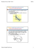 Bài giảng Cơ học lý thuyết: Tuần 6 - Nguyễn Duy Khương