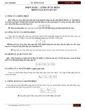 Ôn tập Vật lý lớp 11 năm 2018