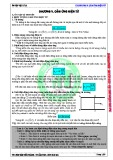 Ôn tập Vật lý lớp 11: Cảm ứng điện từ