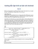 Hướng dẫn lập trình cơ bản với Android - Phần 16: Tìm hiểu về Implicit Intent