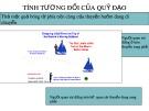 Bài giảng Động học chất điểm - Bài: Tính tương đối của quỹ đạo