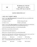 Đề kiểm tra HK 2 môn Ngữ văn lớp 10 Nâng cao năm 2013 - THPT chuyên Lê Quý Đôn