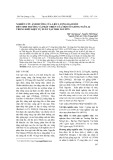 Nghiên cứu ảnh hưởng của liều lượng đạm bón đến sinh trưởng và phát triển của một số giống ngô lai trong điều kiện vụ xuân tại Thái Nguyên
