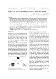 Nghiên cứu tính toán và đánh giá tuyến thông tin vệ tinh