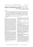 Nghiên cứu chế độ khử trùng và môi trường nuôi cấy khởi động mẫu củ cây hoa huệ (Poliant tuberosa L)