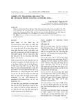 Nghiên cứu thành phần hóa học của rễ cây Bạch Thược (Paeonia Lactiflora Pall.)