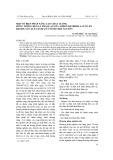 Một số biện pháp nâng cao chất lượng rừng trồng keo lá tràm (Acacia Auriculiformis A.cunn ex benth) sản xuất dăm gỗ ở tỉnh Thái Nguyên