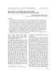 Thực trạng và giải pháp nhằm phát triển thương mại nông thôn trên địa bàn Thái Nguyên