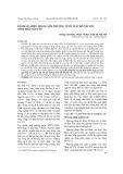 Đánh giá hiện trạng môi trường nước mặt hồ Núi Cốc tỉnh Thái Nguyên