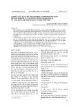 Nghiên cứu tạo chế phẩm Horse Radish PreoXydase – Progesterone tự gắn dùng trong bộ KIT EIA-P4 và ứng dụng để chẩn đoán có thai sớm ở bò