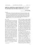 Nghiên cứu ảnh hưởng của một số phương thức gieo trồng đến sự sinh trưởng, phát triển và năng suất của giống đậu tương VX93 trong vụ đông tại Thái Nguyên