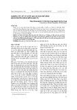 Nghiên cứu xử lý nước rác huyện Phú Bình bằng phương pháp đông keo tụ