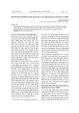 Huyện Bạch Thông (Bắc Kạn) qua tư liệu địa bạ Gia Long 4 (1805)