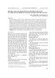 Biểu hiện lâm sàng, bệnh tích ở dạ múi khế và ruột non của trâu bò mắc bệnh giun xoăn dạ múi khế tỉnh Thái Nguyên