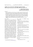 Nghiên cứu xây dựng quy trình phân tích vitamin B1 trong một số loại gạo và rau trên thiết cực khổ VA 797