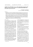 Nghiên cứu ảnh hưởng của các mức bón phân N.P.K khác nhau đến sản lượng và chất lượng của cỏ Brachiaria brizantha 6387 trồng tại Thái Nguyên