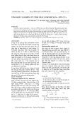 Tổng hợp và nghiên cứu tính chất Compozit PANi – Mùn cưa