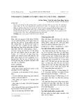 Tổng hợp và nghiên cứu phức chất của Tuli với L – Histidin