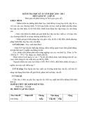 Đề kiểm tra HK 2 môn Lịch sử lớp 10 năm 2011