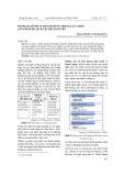 Đánh giá hành vi khách hàng trong lựa chọn sản phẩm du lịch tại Thái Nguyên