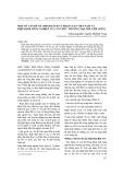 Một số vấn đề về chính sách và pháp luật Việt Nam và hiệp định nông nghiệp Tổ chức Thương Mại Thế Giới (WTO)