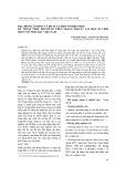 Đặc điểm lâm học và đề xuất một số biện pháp kỹ thuật phục hồi rừng trên trạng thái IC tại một số tỉnh miền núi phía bắc Việt Nam