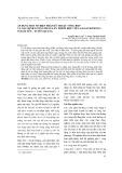 Áp dụng một số biện pháp kỹ thuật tổng hợp và xác định lượng phân lân thích hợp với cam sành trồng ở Hàm Yến - Tuyên Quang