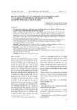 Kết quả thử độc lực và tính mẫn cảm với kháng sinh của vi khuẩn Pasteurella Multocida gây tụ huyết trùng dê ở Thái Nguyên