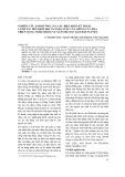 Nghiên cứu ảnh hưởng của các biện pháp kỹ thuật canh tác đến dịch hại và năng suất của giống cà chua triển vọng TN386 trong vụ xuân hè 2013 tại Thái Nguyên
