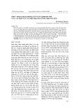 Thực trạng hoạt động sản xuất kinh doanh của các hợp tác xã trên địa bàn tỉnh Thái Nguyên