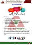 Bài giảng SEO - Bài 2: Keyword research