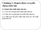 Bài giảng Quản trị nguồn ngân lực (Nâng cao): Chương 2 - PGS. TS. Dương Cao Thái Nguyên