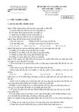 Đề kiểm tra HK 2 môn Sinh học lớp 12 năm 2018 - THPT Trần Hưng Đạo - Mã đề 214