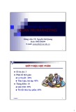 Bài giảng Quản trị Marketing: Chương 1 - TS. Nguyễn Hải Quang