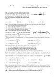 Đề thi môn Vật lý lớp 10 - Mã đề 10