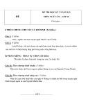 Đề thi HK 2 môn Ngữ văn lớp 12 năm 2012 - Mã đề 6