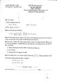 Đề kiểm tra HK 2 môn Toán lớp 9 năm 2010 - Sở GD & ĐT Bắc Ninh