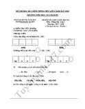 Đề thi học kì 1 môn Tiếng Việt lớp 1 năm 2017-2018 - Trường Tiểu học Số 1 Ba Đồn
