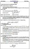 Đề ôn thi Đại học môn Toán - Trần Sĩ Tùng - Đề số 14